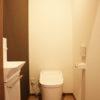 最新式トイレ