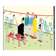 地鎮祭イメージ